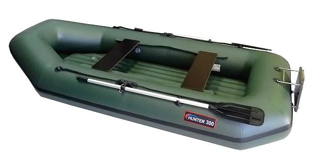 Моторная лодка Хантер 300 ЛТН Зеленая