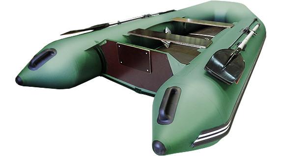 Килевая лодка Хантер 320 ЛК Зеленая