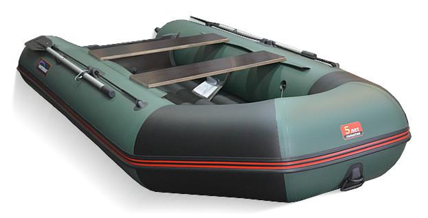 Килевая лодка Хантер 320-ЛКА Зеленая