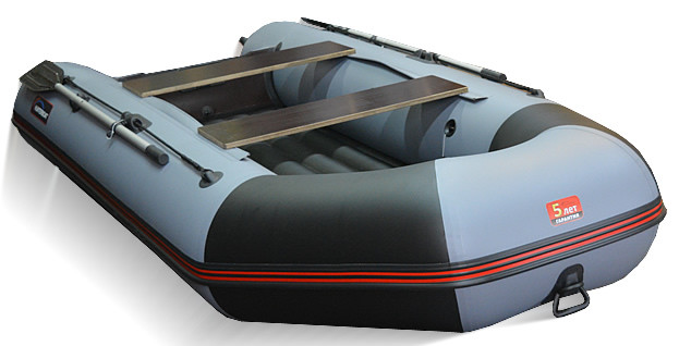 Килевая лодка Хантер 320-ЛКА Серая