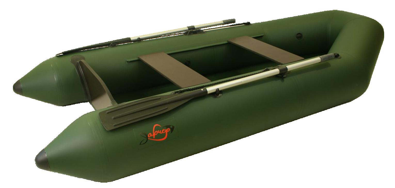 Моторная лодка Арчер-280 Зеленая