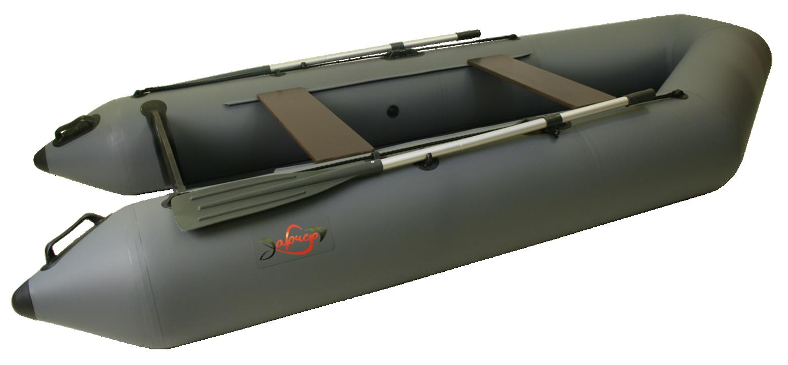 Надувная гребная лодка под мотор Арчер-310 Зеленая