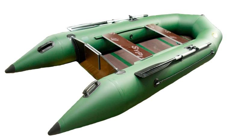 Надувная гребная лодка под мотор Helios Гелиос-33МК