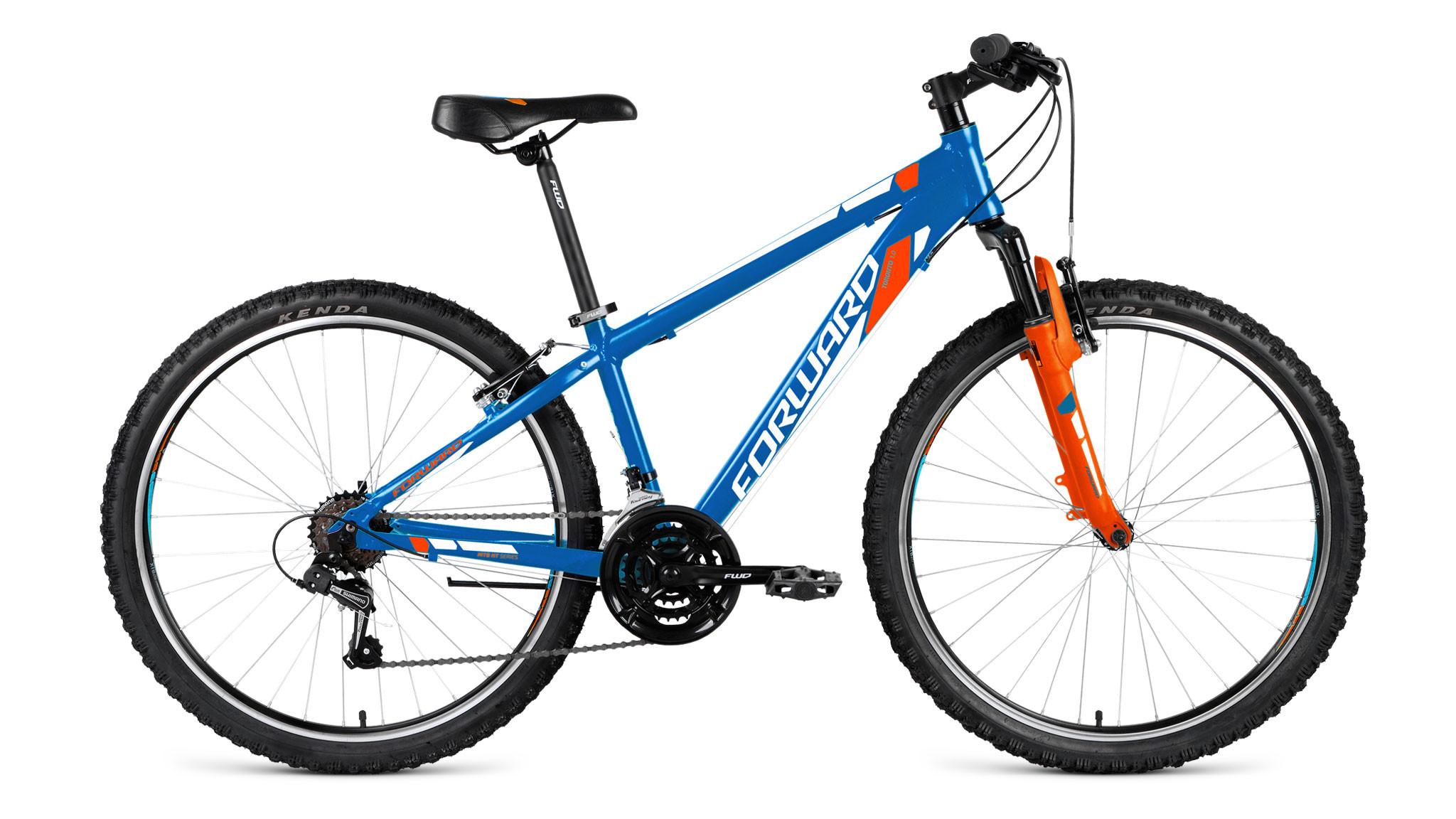 """Горный велосипед Forward Toronto 1.0 2018 рама 14"""" синий матовый"""