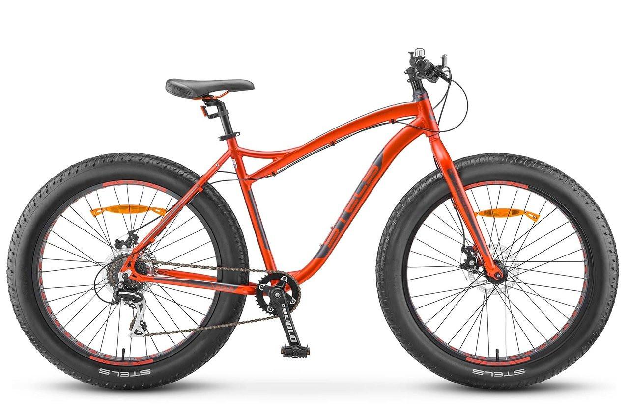 "Горный велосипед Stels Navigator-680MD 2018 V040 рама 18"" красный"