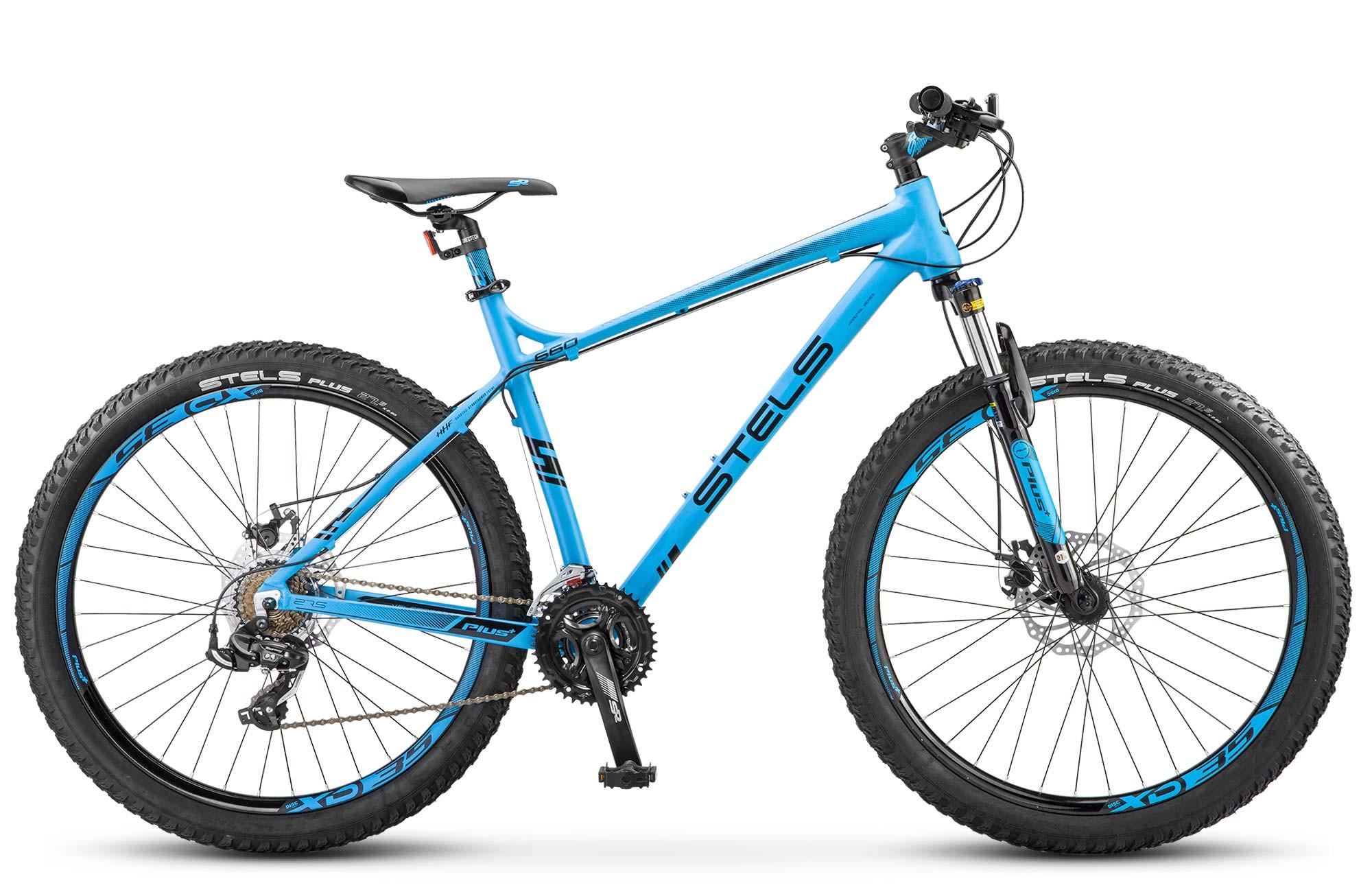 """Горный велосипед Stels Navigator-660MD 2017 V020 рама 18"""" синий"""