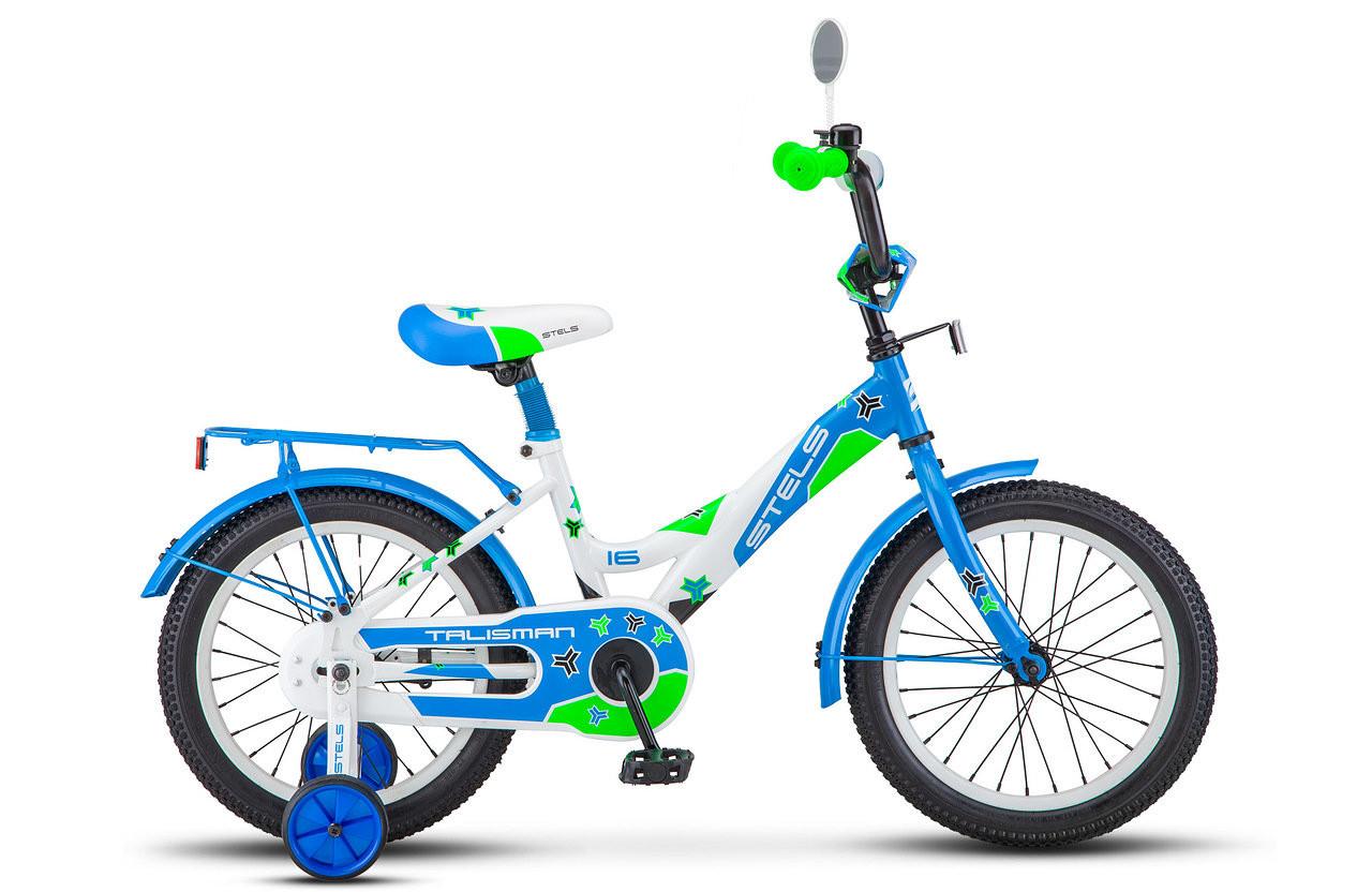 """Детский велосипед Stels Talisman 2018 Z010 16"""" синий"""