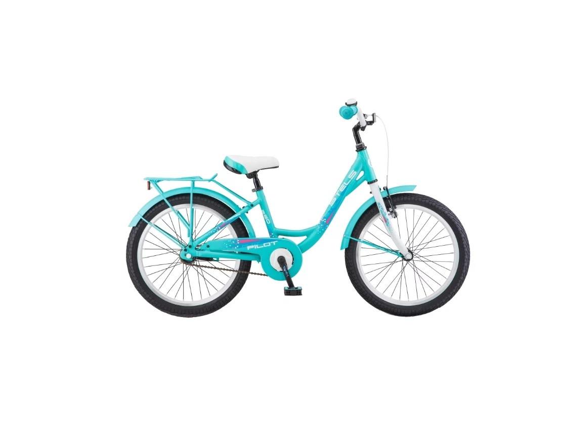"""Детский велосипед Stels Pilot-220 Lady 2018 V010 20"""" бирюзовый"""
