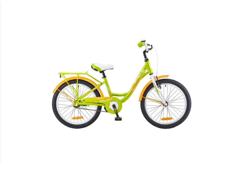 """Детский велосипед Stels Pilot-220 Lady 2018 V010 20"""" зеленый"""