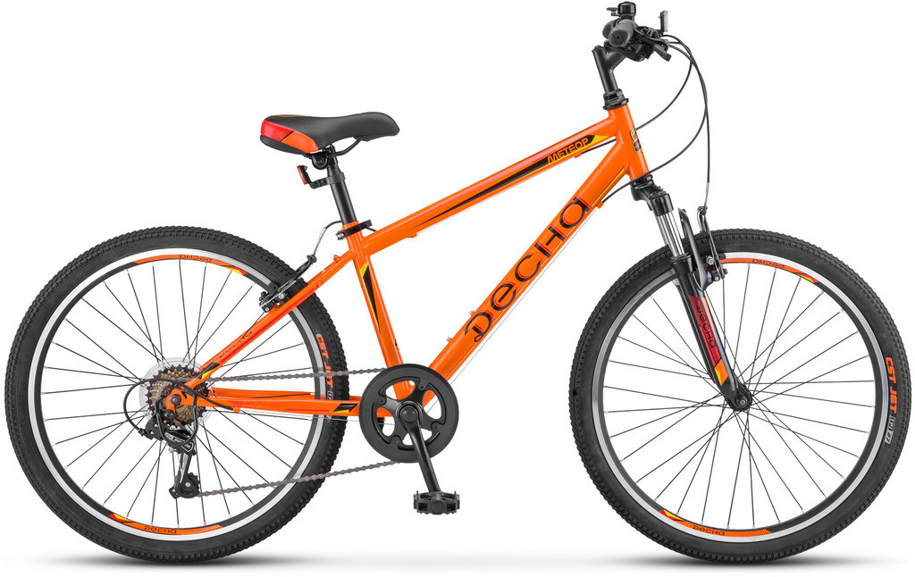 """Детский велосипед Десна Метеор 2018 24"""" оранжевый"""