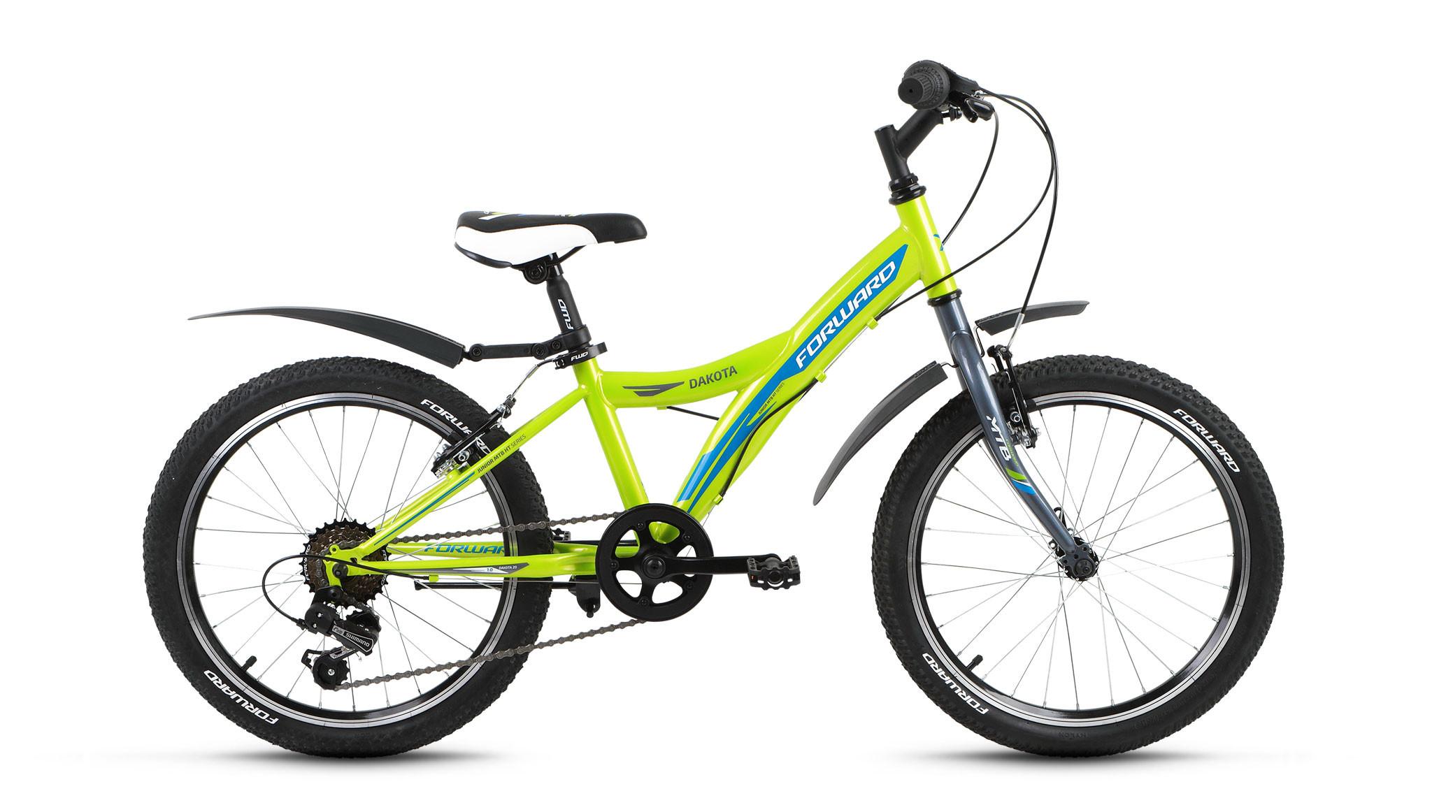 Детский велосипед Forward Dakota 1.0 2018 зеленый