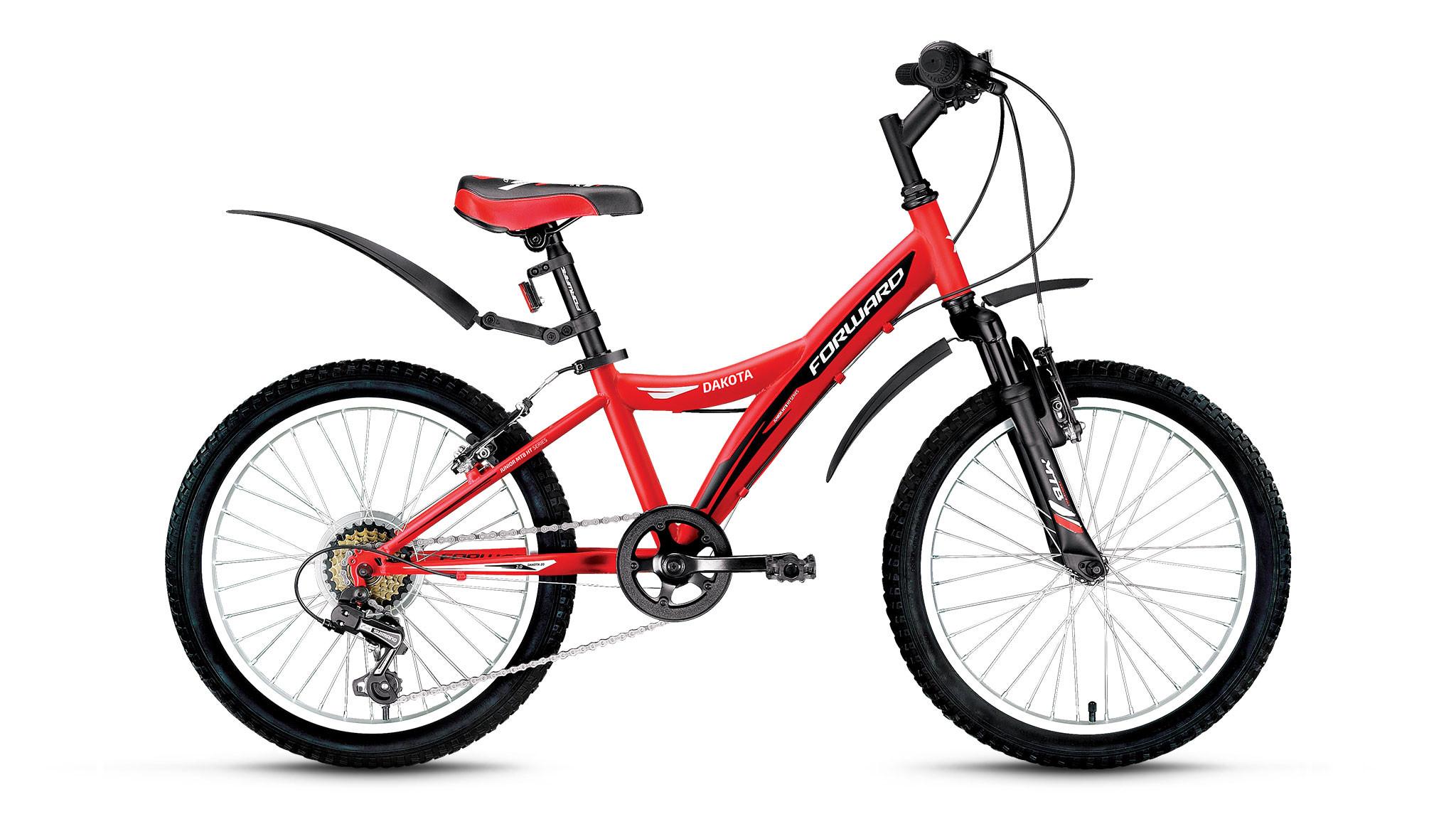 Детский велосипед Forward Dakota 2.0 2017 красный матовый