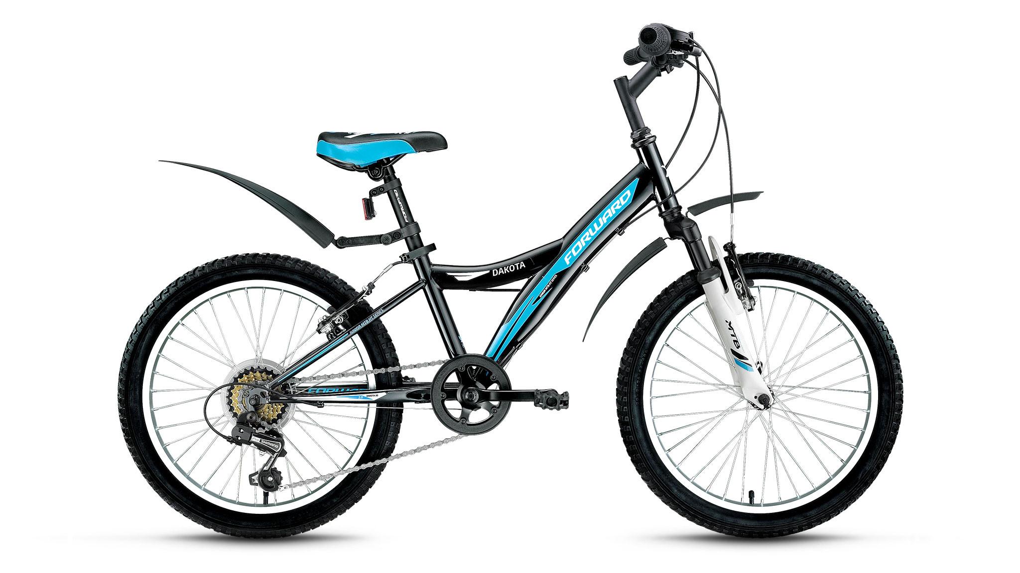 Детский велосипед Forward Dakota 2.0 2017 черный