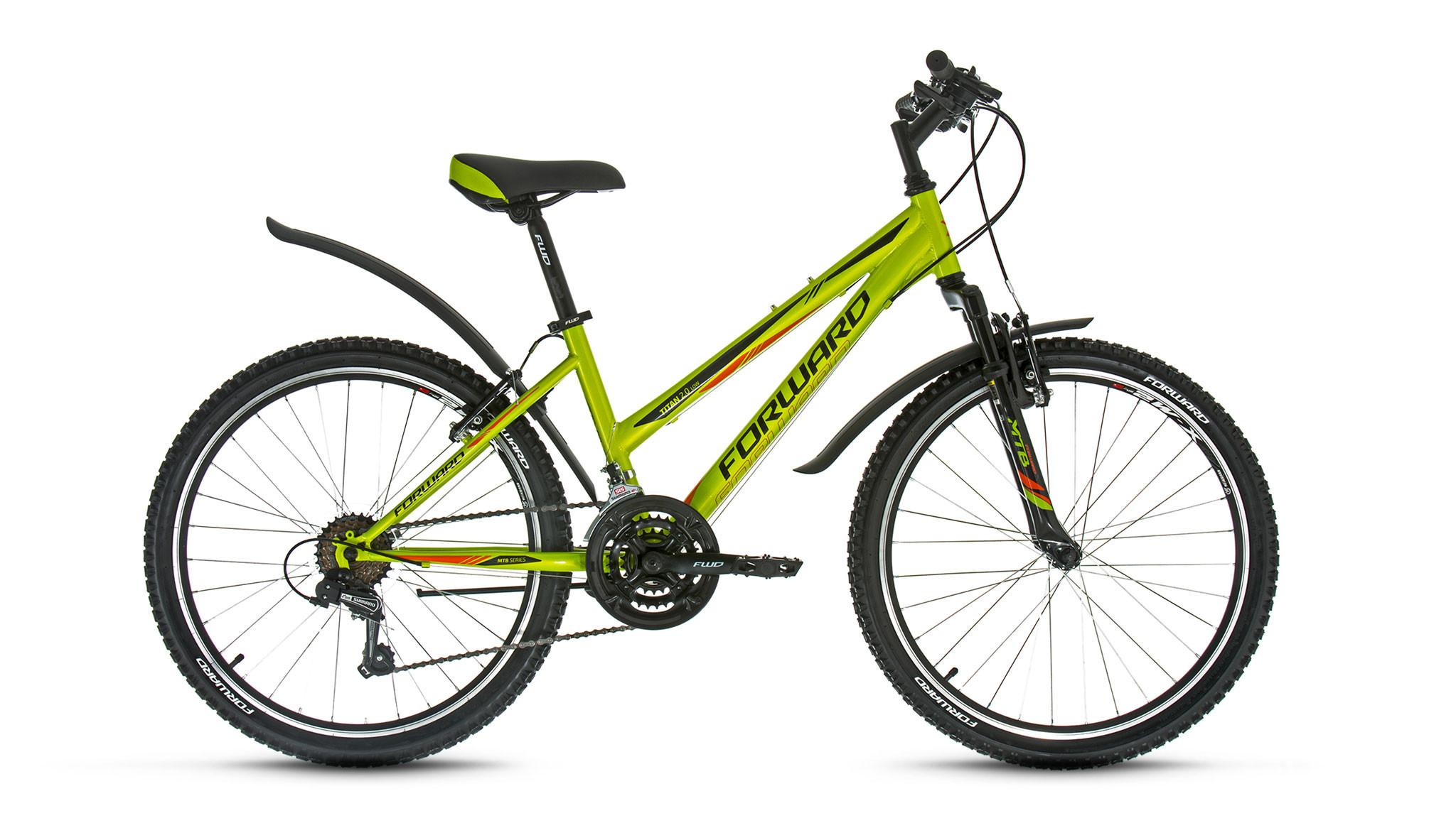 Детский велосипед Forward Titan 2.0 low 2018 зеленый