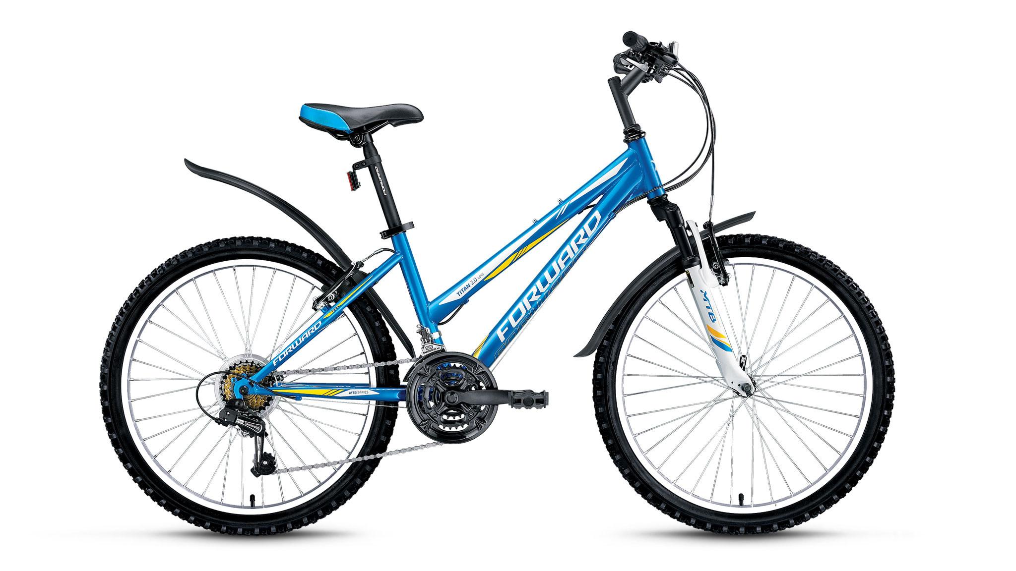 Детский велосипед Forward Titan 2.0 low 2018 синий