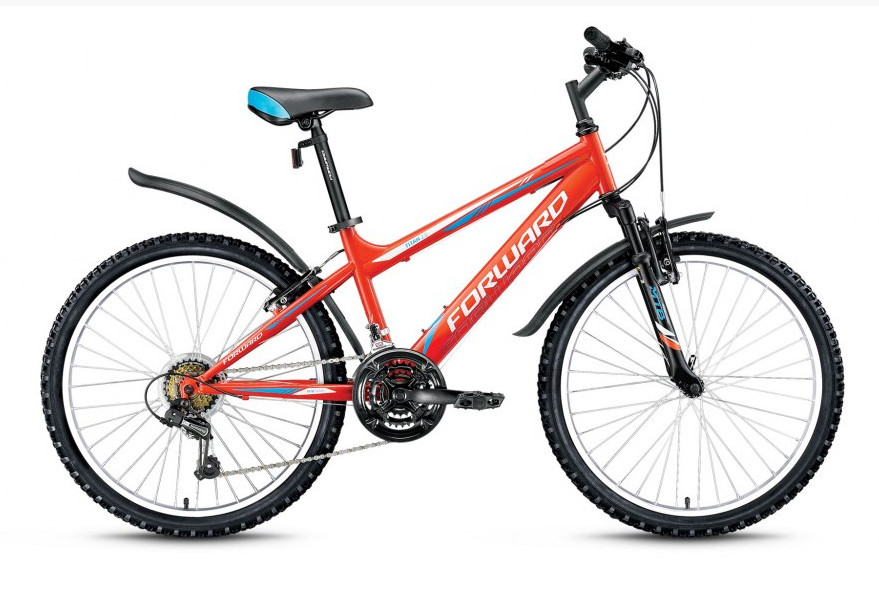 Детский велосипед Forward Titan 2.1 2018 оранжевый
