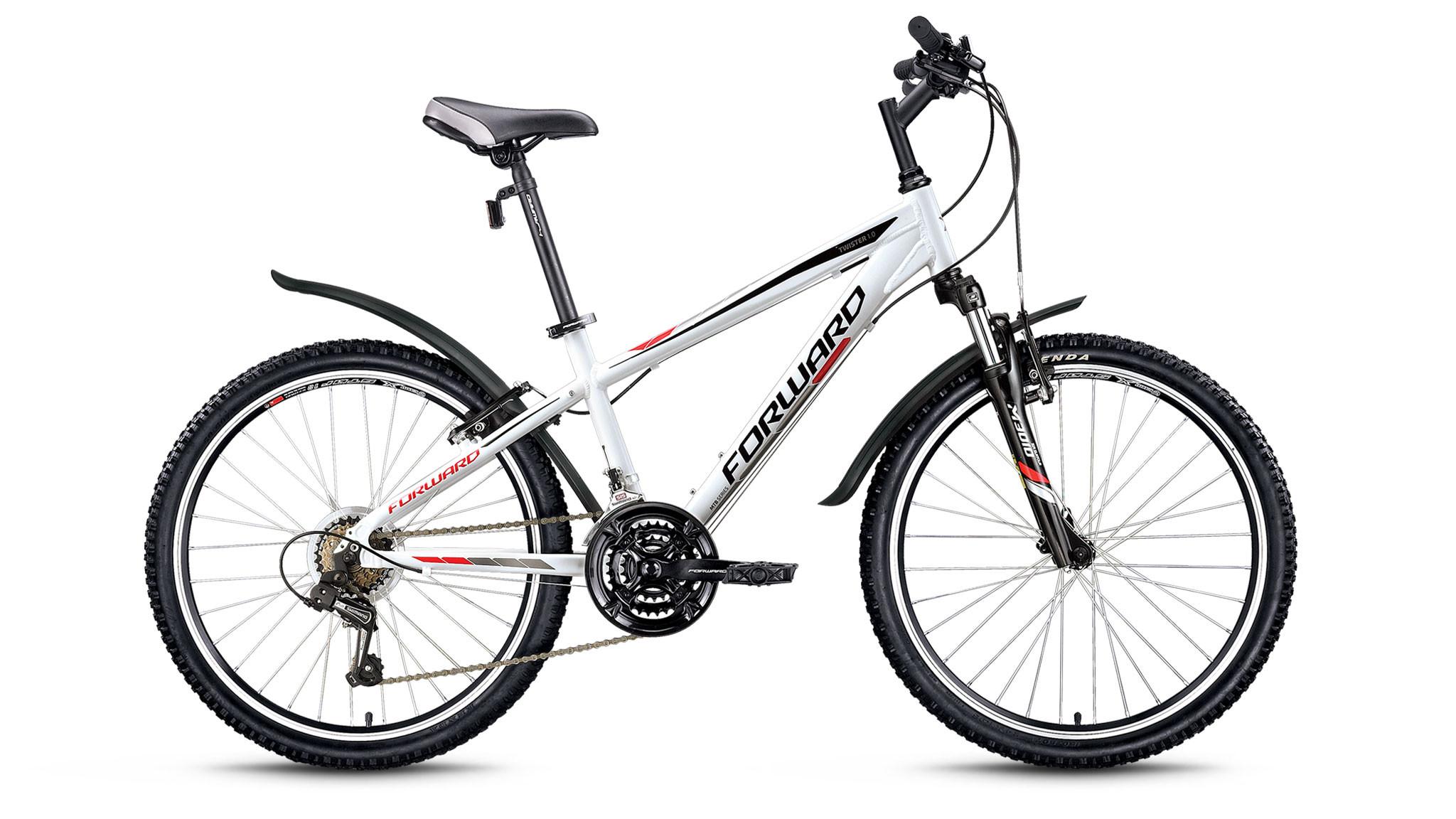 Детский велосипед Forward Twister 1.0 2018 белый
