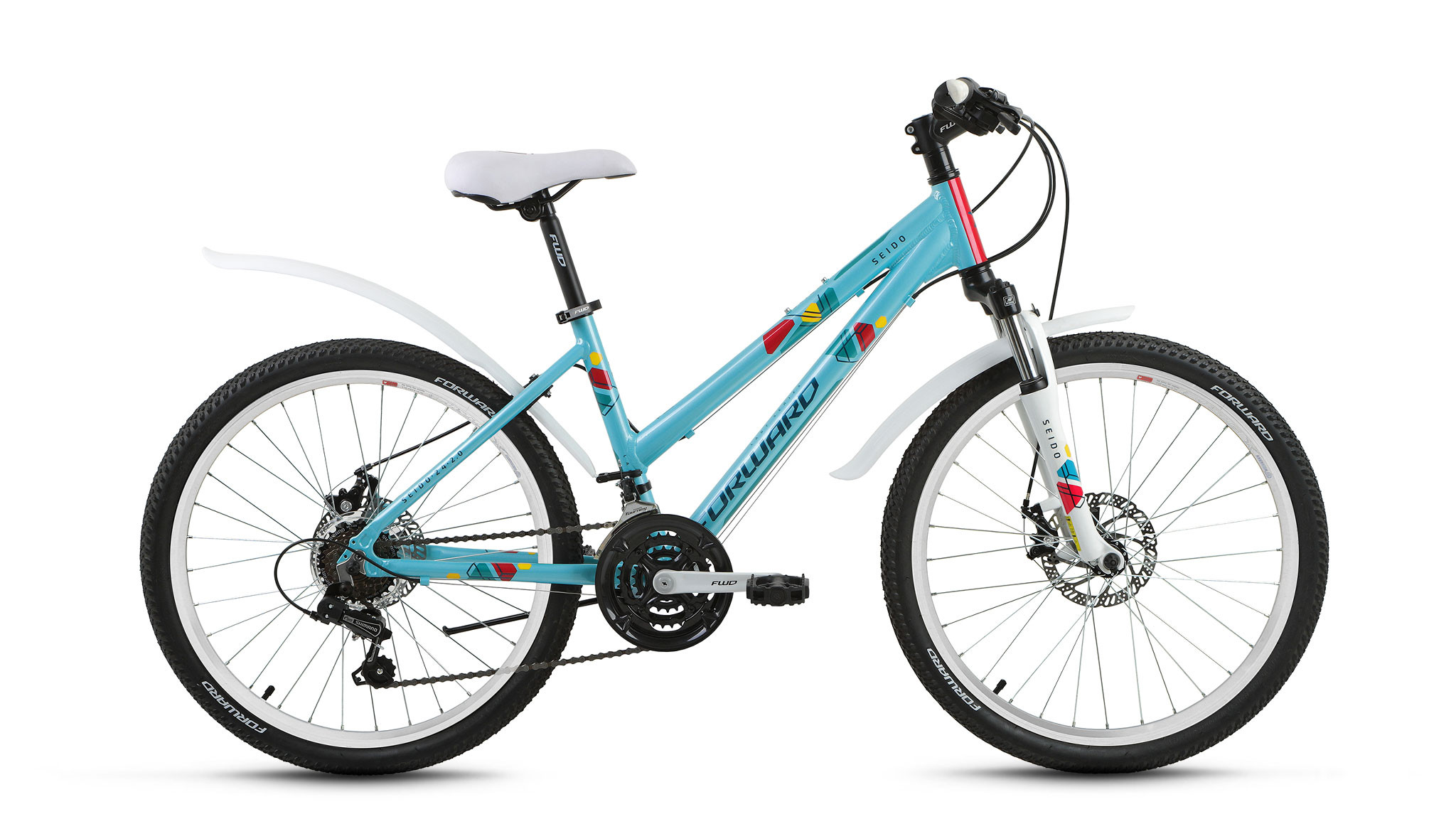 Детский велосипед Forward Seido 2.0 disc 2017 зеленый