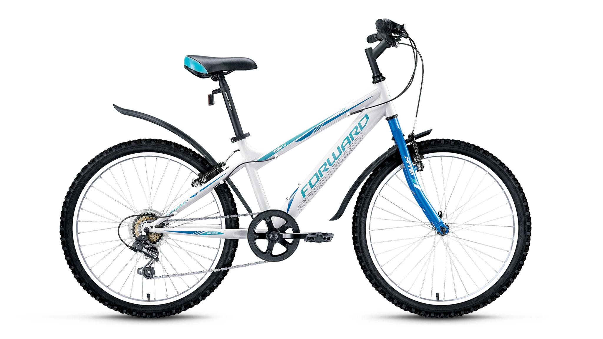 Детский велосипед Forward Titan 1.0 2017 белый