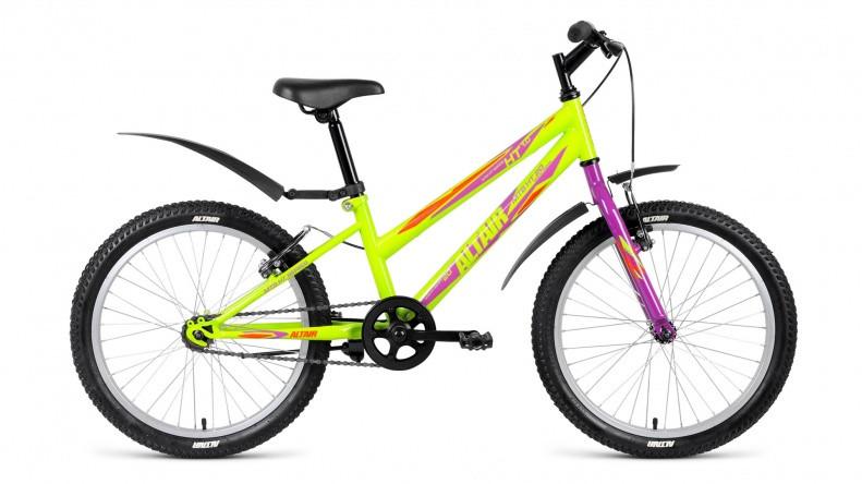 Детский велосипед Altair MTB HT 1.0 Lady 2018 зеленый