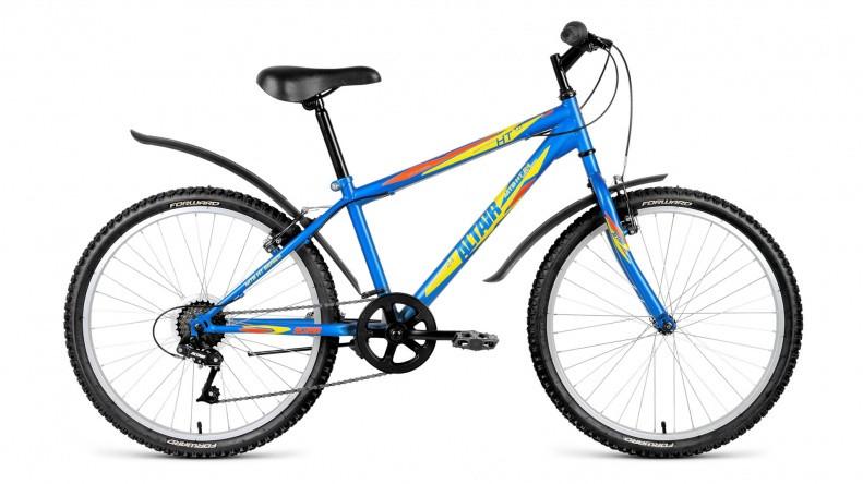 Детский велосипед Altair MTB HT 1.0 2018 синий матовый