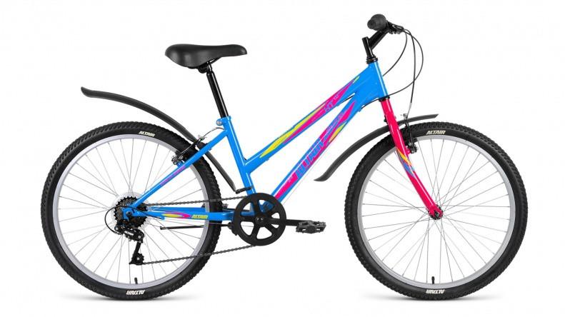 Детский велосипед Altair MTB HT 1.0 Lady 2018 голубой