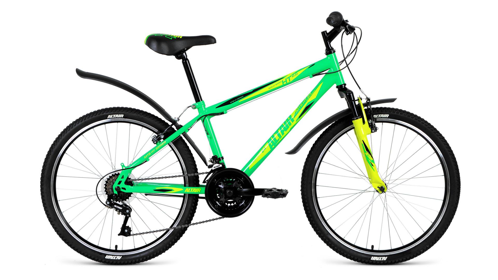 Детский велосипед Altair MTB HT 2.0 2018 светло-зеленый