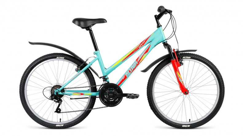 Детский велосипед Altair MTB HT 2.0 Lady 2018 зеленый матовый