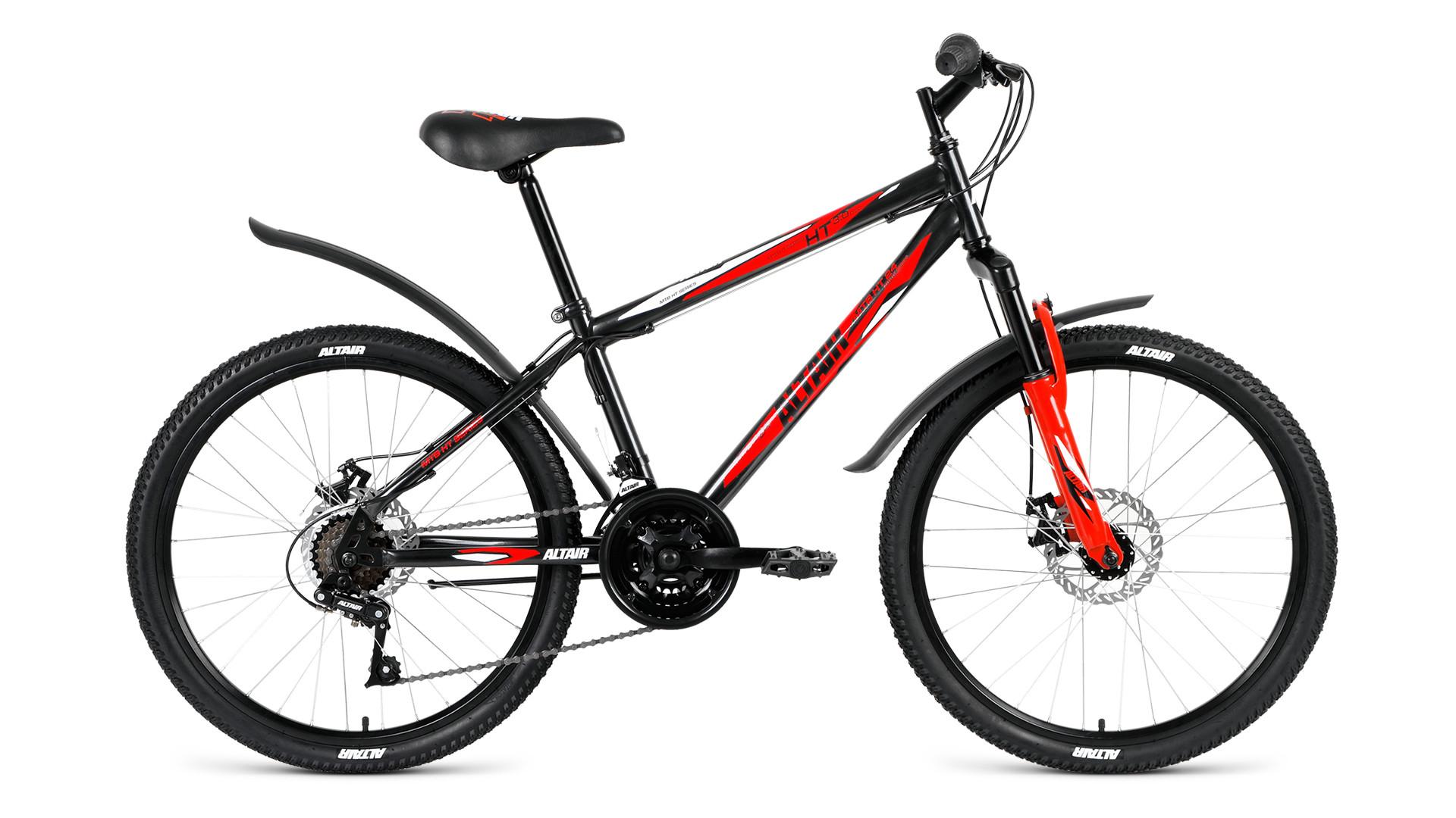 Детский велосипед Altair MTB HT 3.0 disc 2018 черный