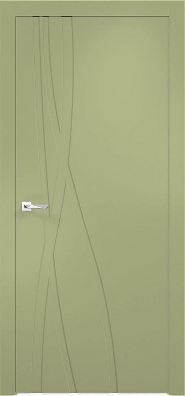 Межкомнатная дверь Верда эмалит Loyard Севилья 28 ДГ Софт Фисташка