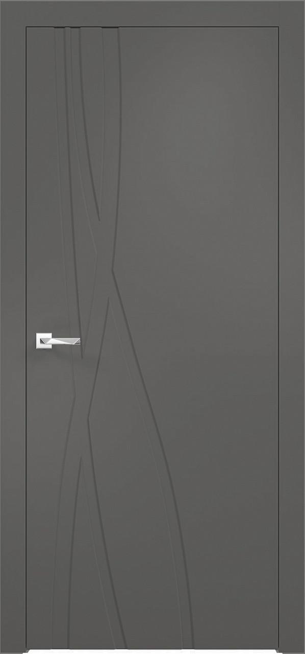 Межкомнатная дверь Верда эмалит Loyard Севилья 28 ДГ Софт Графит