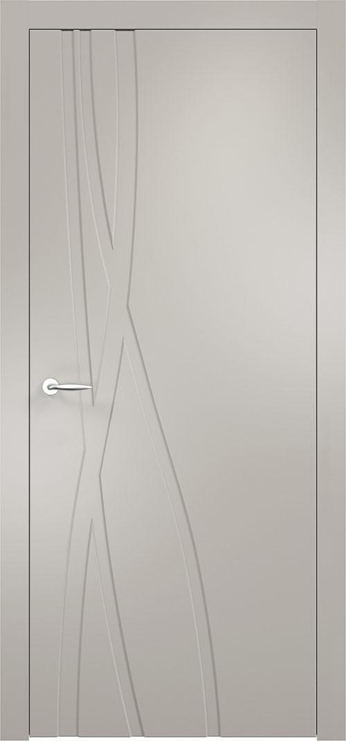 Межкомнатная дверь Верда эмалит Loyard Севилья 28 ДГ Софт Грей