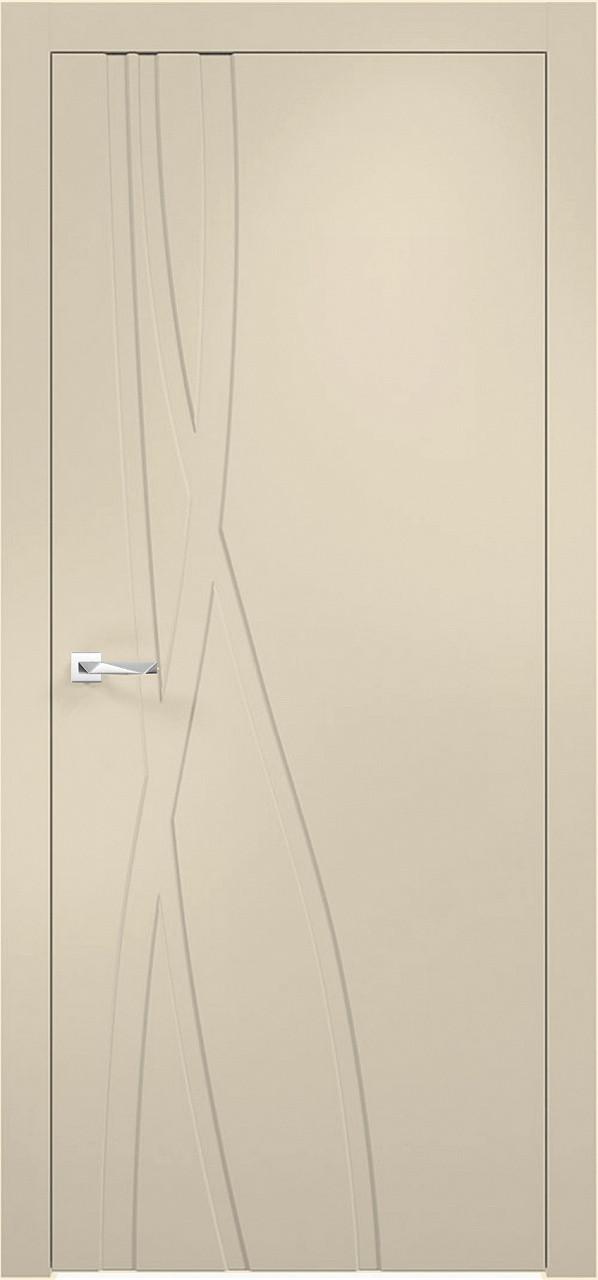 Межкомнатная дверь Верда эмалит Loyard Севилья 28 ДГ Софт Панакота