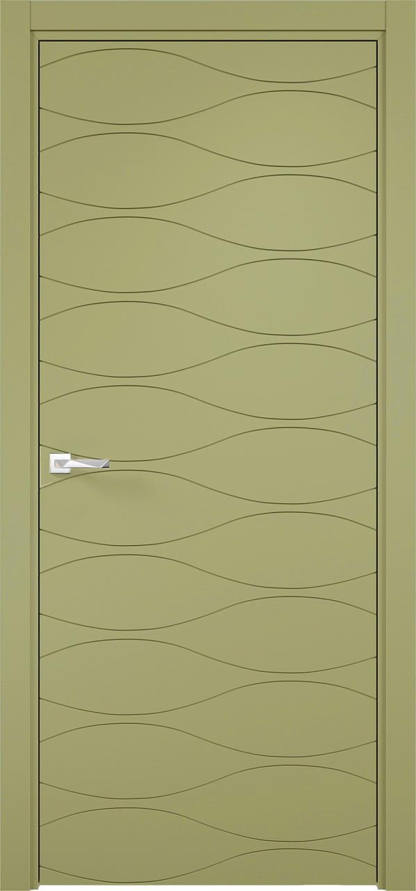 Межкомнатная дверь Верда эмалит Loyard Севилья 29 ДГ Софт Фисташка