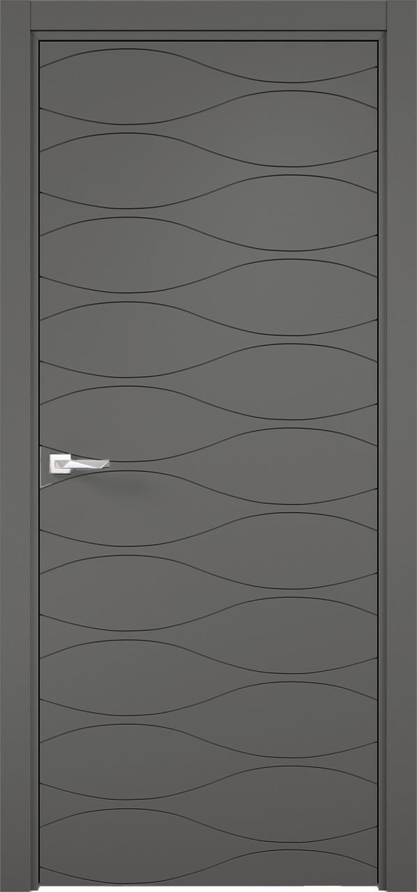 Межкомнатная дверь Верда эмалит Loyard Севилья 29 ДГ Софт Графит