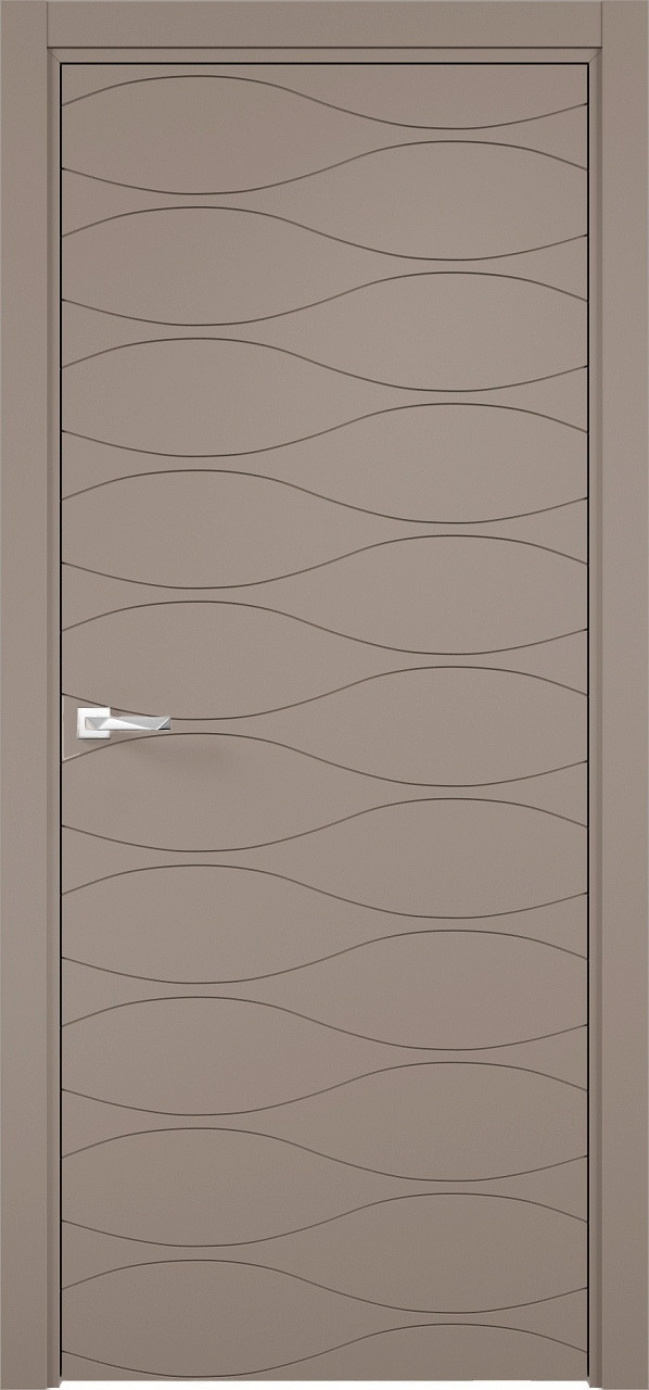 Межкомнатная дверь Верда эмалит Loyard Севилья 29 ДГ Софт Мокко