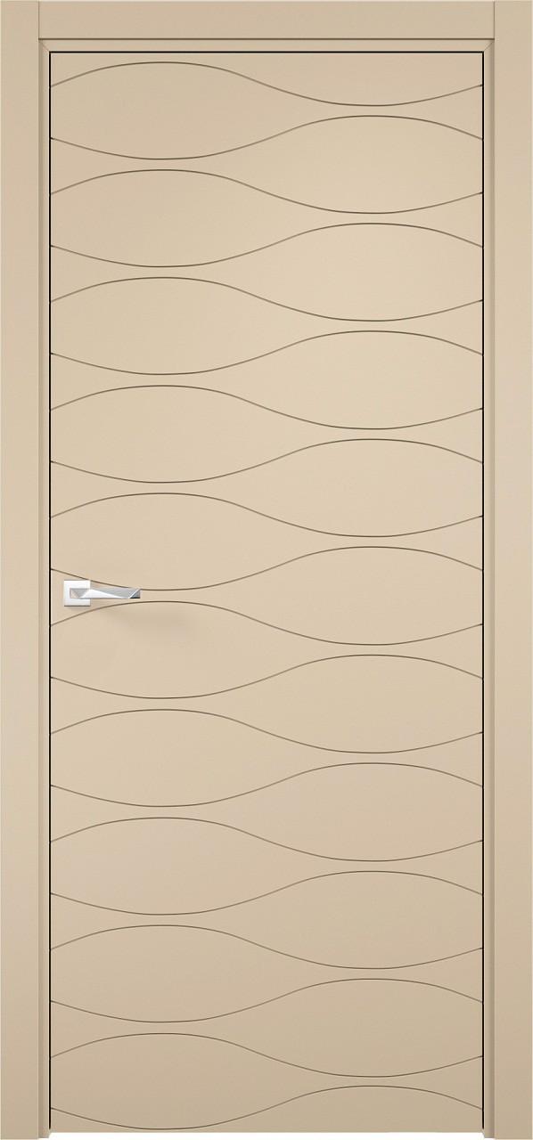 Межкомнатная дверь Верда эмалит Loyard Севилья 29 ДГ Софт Панакота