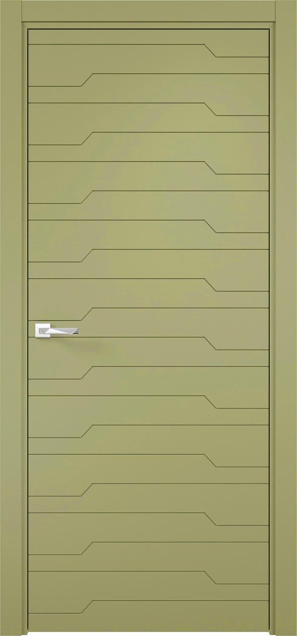 Межкомнатная дверь Верда эмалит Loyard Севилья 30 ДГ Софт Фисташка