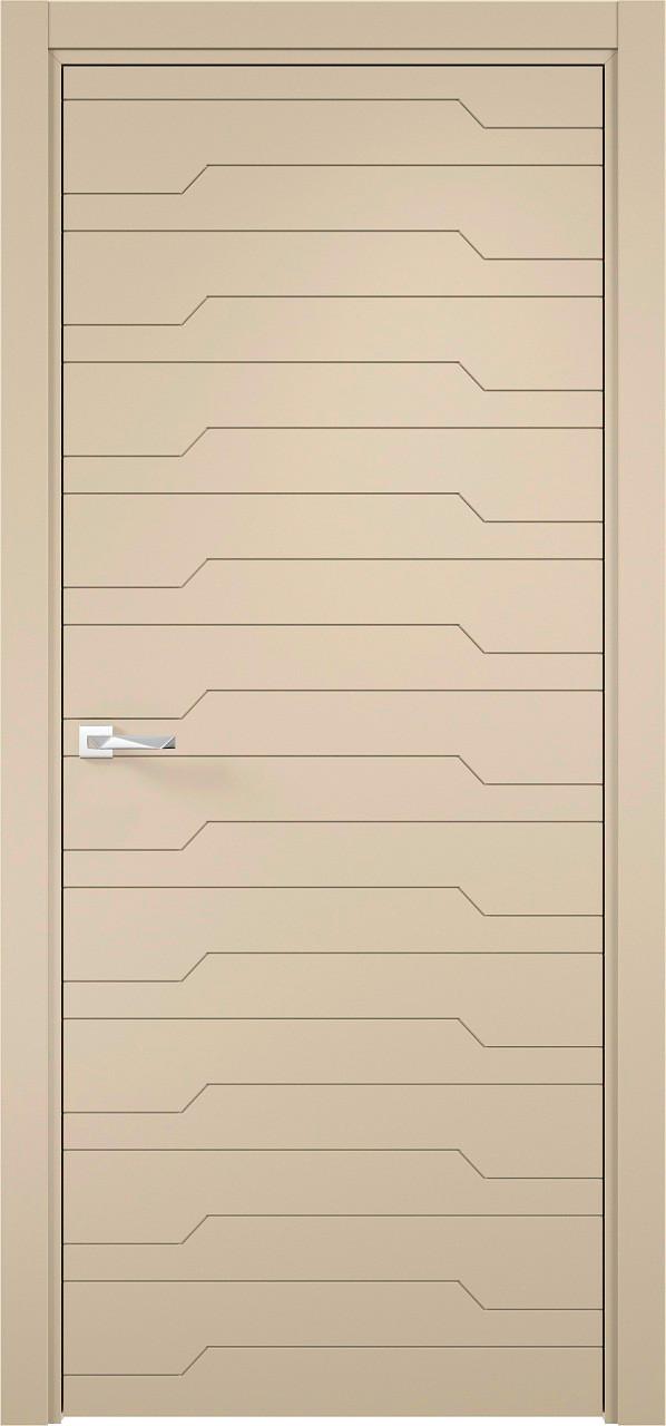 Межкомнатная дверь Верда эмалит Loyard Севилья 30 ДГ Софт Панакота