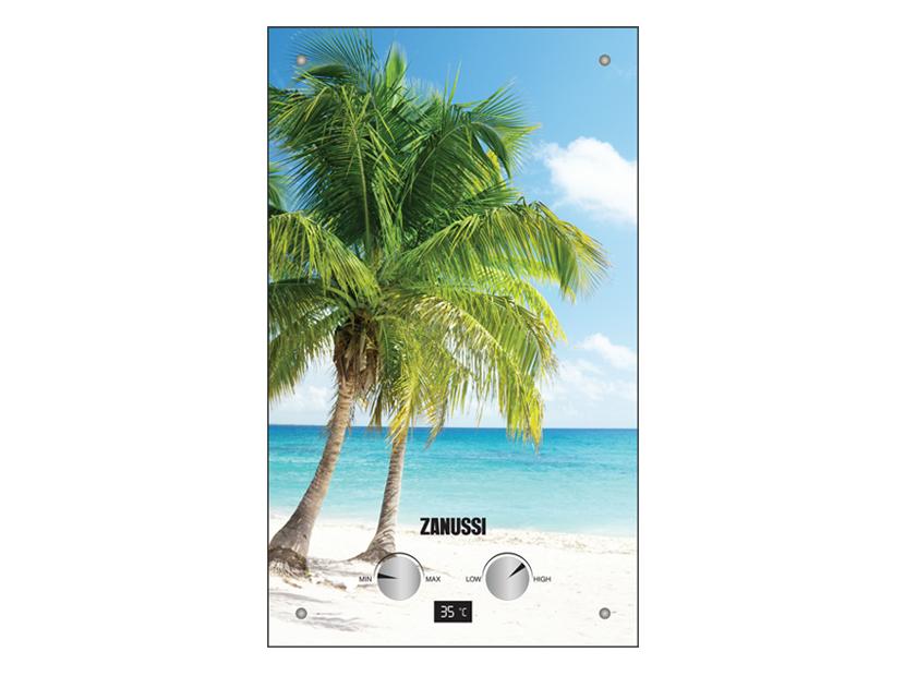 Газовая колонка Zanussi GWH 12 Fonte Glass Paradiso