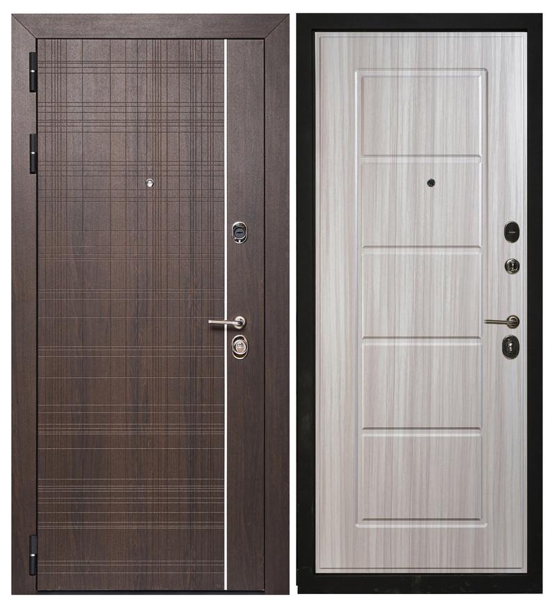 Дверь Sidoorov Максимум SM 105 Вега Венге / Ника Сандал белый