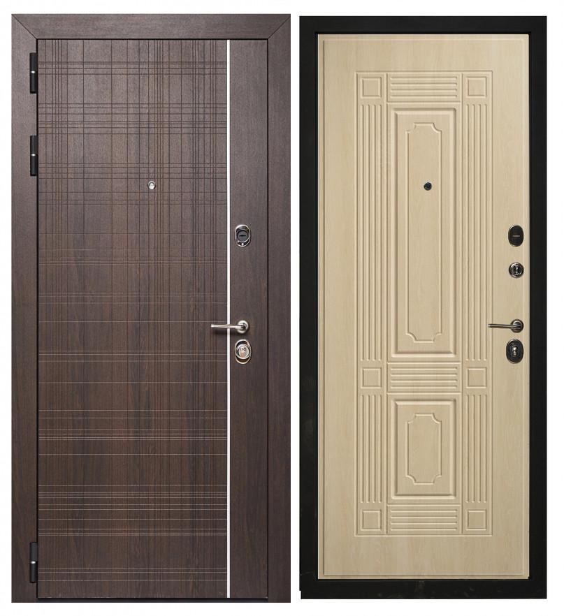 Дверь Sidoorov Максимум SM 105 Вега Венге / Филадельфия Крем