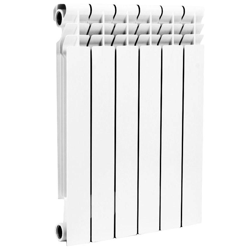 Радиатор алюминий Alpha 500 9 секций 1,701кВт Ogint 017-3252