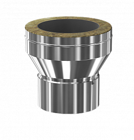 Заглушка с конденсатосборником конусная d150/200