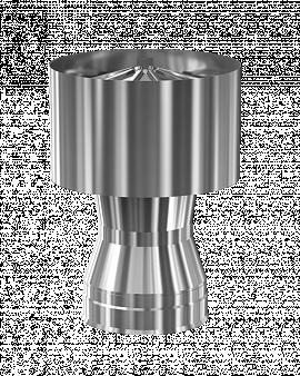 Дефлектор-заглушка d150/200
