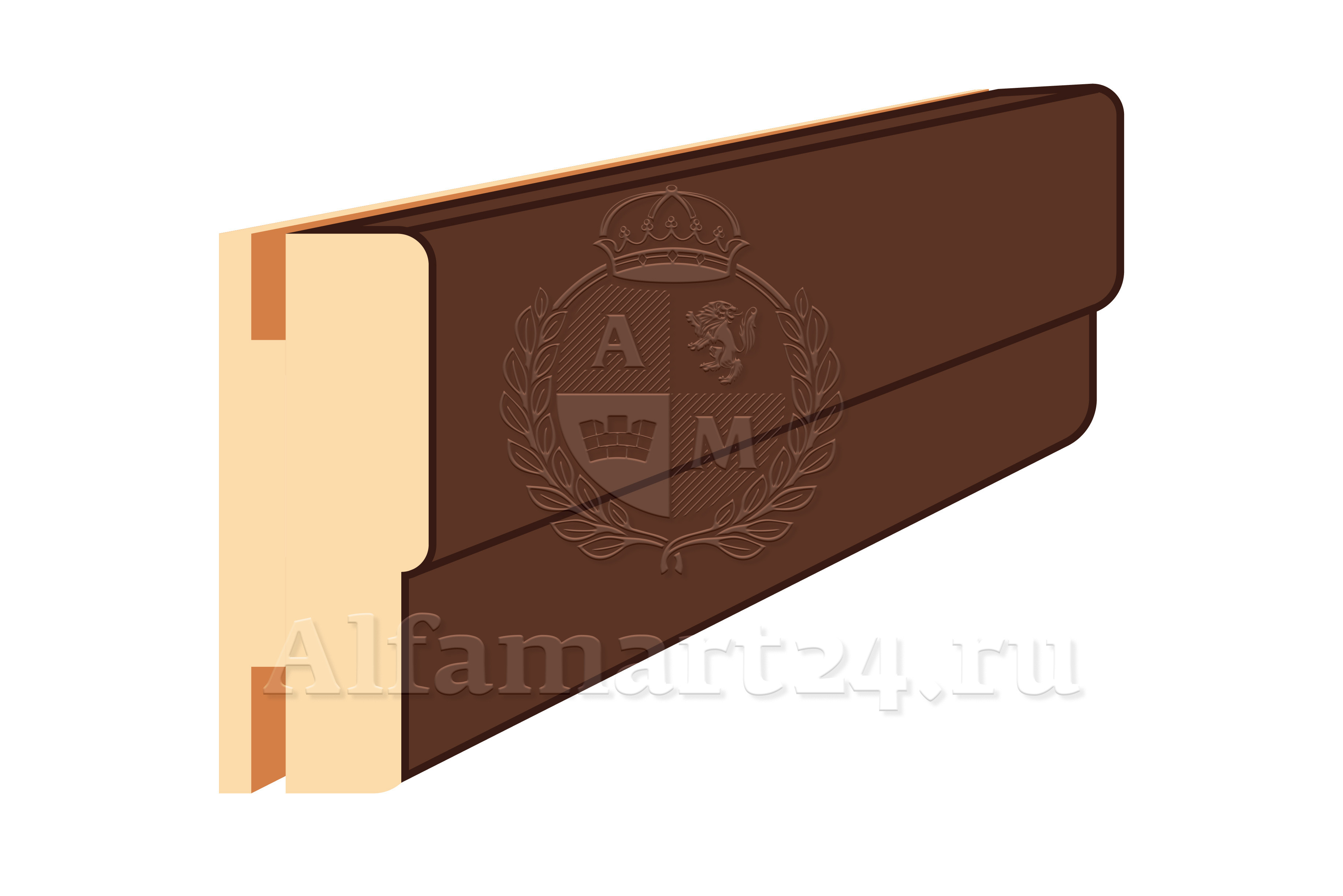 Коробка для двупольной двери ONPLANE 80 / 2400 / 40 (комплект 3 шт.)
