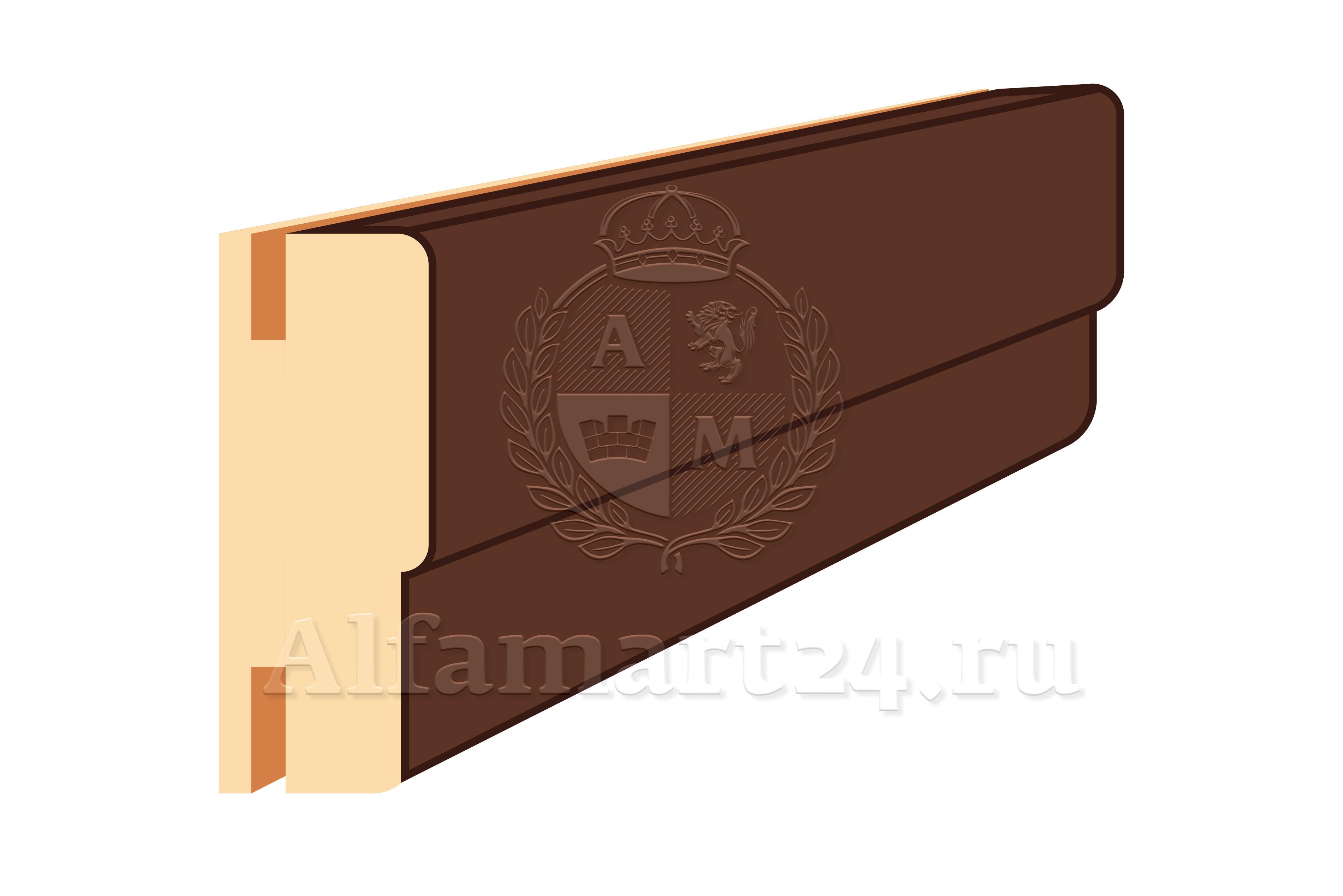 Коробка для двупольной двери ONPLANE 80 / 2800 / 40 (комплект 3 шт.)