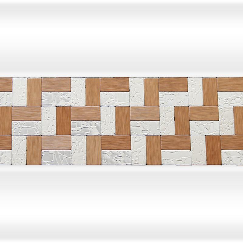 Декоративная отделка фронтальной панели: вертикальная вставка АРТ-МОЗАЙКА Лесенка Bronze