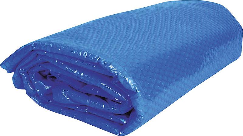 Покрывало плавающее овал Azuro для бассейна 5,5x3,7 м синее, арт. 3BVZ0033[3EXX0022]