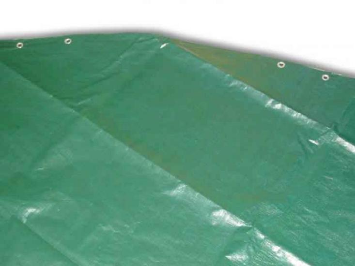 Тент защитный овал Azuro 5,5x3,7 м зелёный, арт. 3BVZ0128
